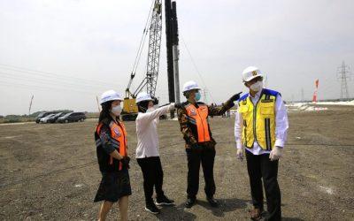 Datangi Ground Breaking Proyek Simpang Susun Romokalisari, Wali Kota Risma Minta Dikebut